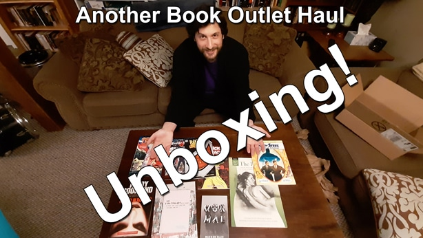 Book Outlet Haul Unboxing December 2019 Thumbnail