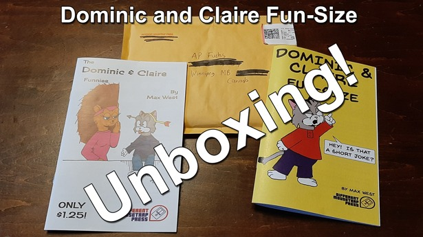 Dominic and Claire Fun-Size and Funnies by Max West Thumbnail