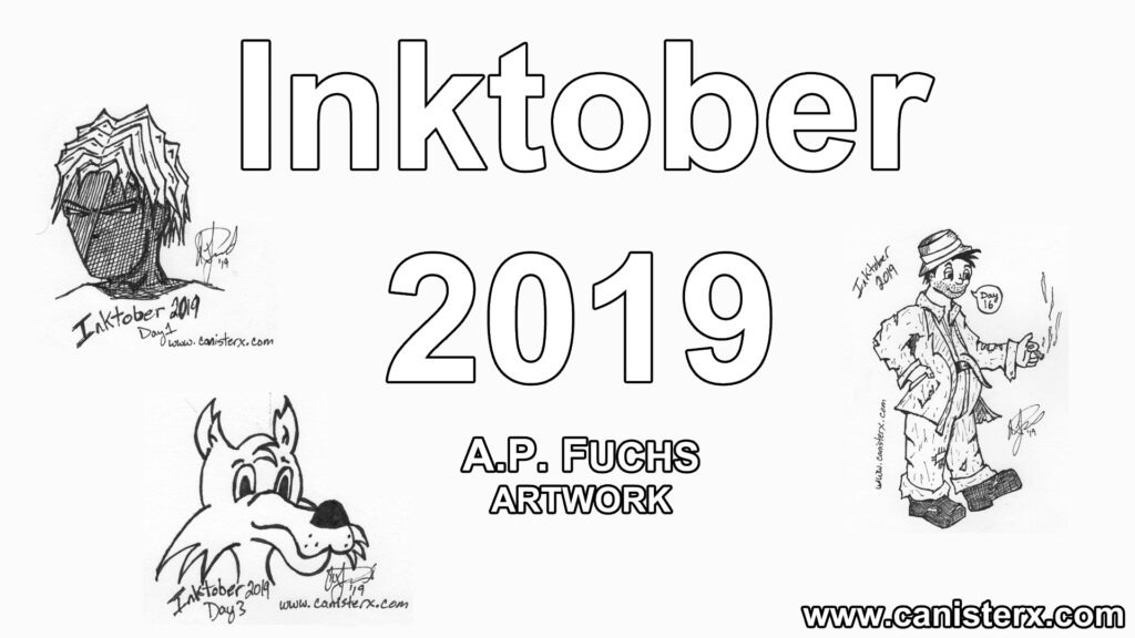 A.P. Fuchs Inktober 2019 Artwork Showcase Thumbnail