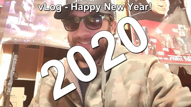 Happy New Year 2020 vLog thumbnail