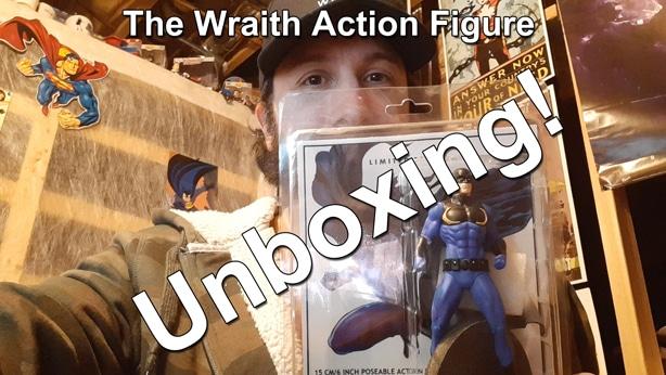 The Wraith Action Figure Unboxing thumbnail