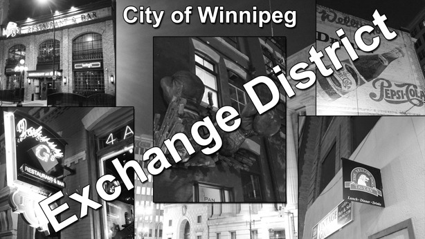 Winnipeg Exchange District at Night