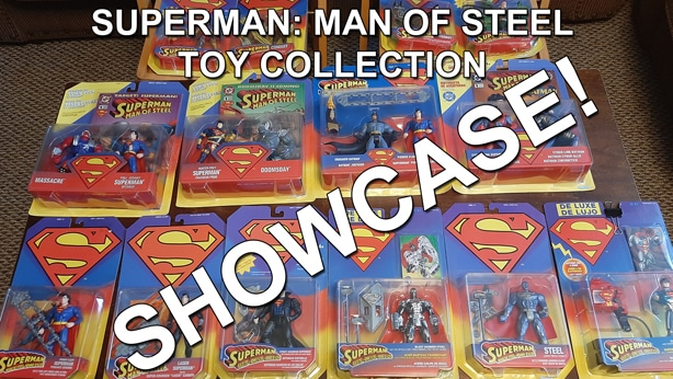 Superman Man of Steel Toy Collection