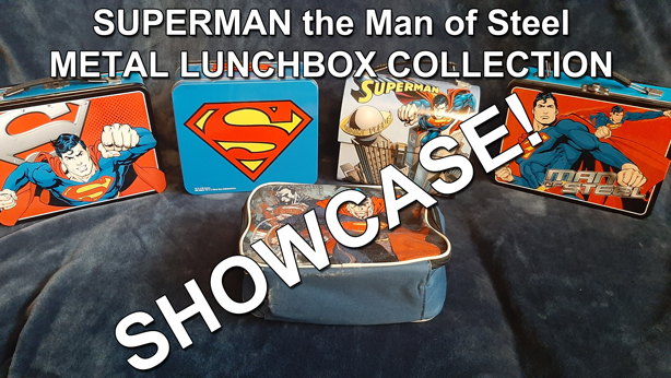 Superman Man of Steel Metal Lunchbox Collection thumbnail