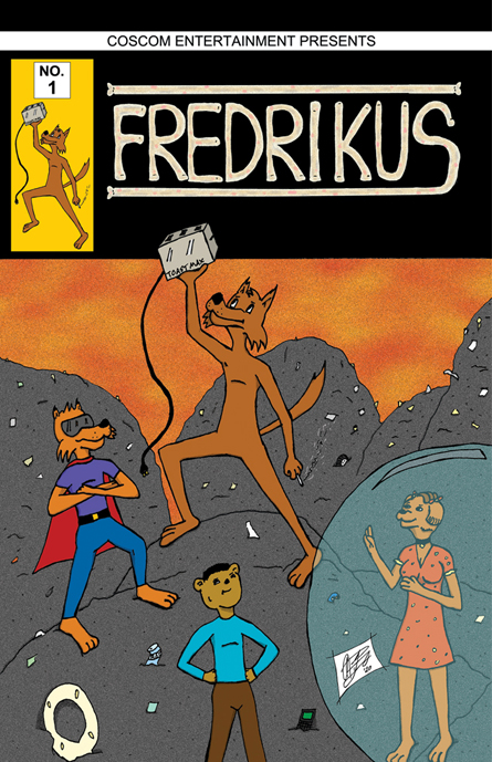 Fredrikus 1 webcomic cover release