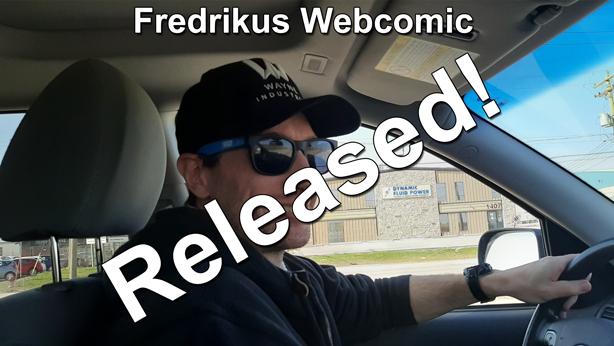 Fredrikus webcomic released thumbnail