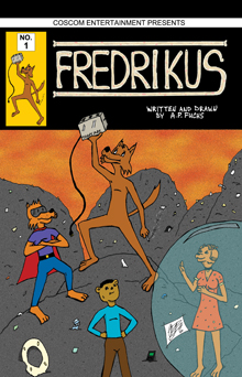 Fredrikus webcomic thumbanil