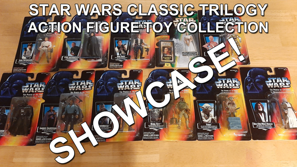 Star Wars Classic Trilogy Action Figure Toy Collection thumbnail