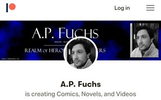 A.P. Fuchs Patreon Logo