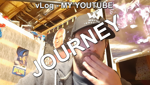 vLog my youtube journey thumbnail