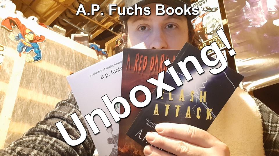 A.P. Fuchs books unboxing thumbnail