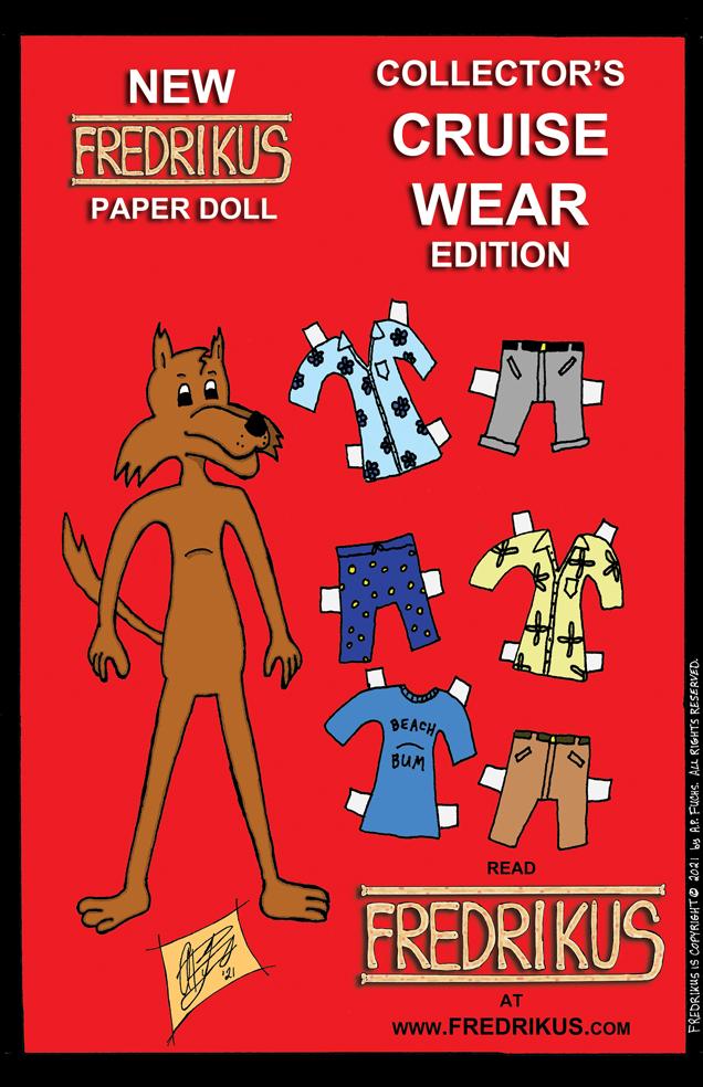 Fredrikus Paper Doll